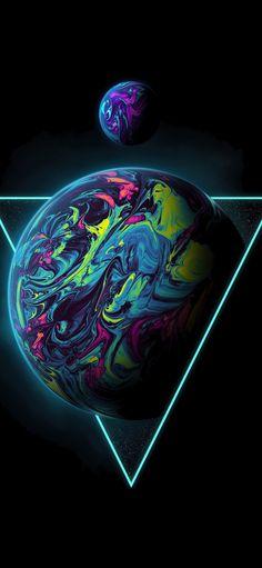 Planet AMOLED Wallpaper 1080×2340