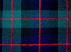 Los colores del tartan del Clan Murray de Blair Atholl.