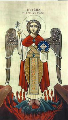 АРХАНГЕЛ МИХАЙЛО Коптська ікона.