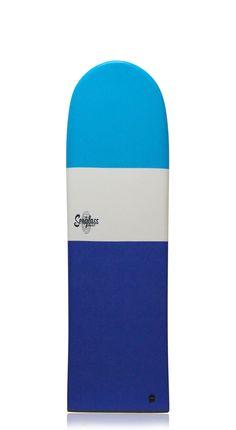 "Seaglass Albacore Finless Surfboard 4'11""...back in stock soon."
