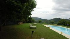 swimming-pool  in  #farmhouse wit land and #B&B in #Montalcino