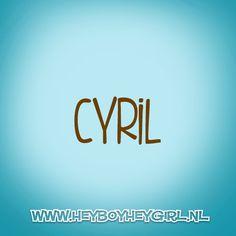 Cyril (Voor meer inspiratie, en unieke geboortekaartjes kijk op www.heyboyheygirl.nl)