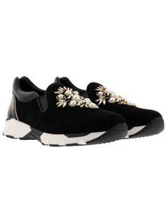 RENÉ CAOVILLA Rene Caovilla Slip On Pearls. #renécaovilla #shoes #rene-caovilla-slip-pearls