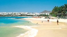 Famara beach is one of the most beautiful beaches in Lanzarote located on the north part of the island in Costa Famara. Description from lanzaroted.com. I searched for this on bing.com/images