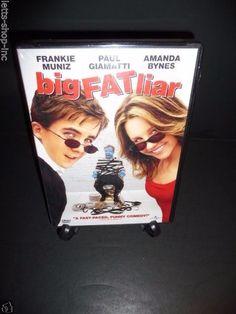 Big Fat Liar (DVD, 2002)  Frankie Muniz, Amanda Bynes  New Sealed