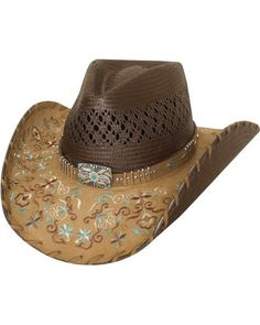 Bullhide Never Give Up Shantung Straw Cowgirl Hat 61551c80f7a8