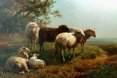 Famous 19th Century Oil Paintings Of Sheep - Fine Art Blogger
