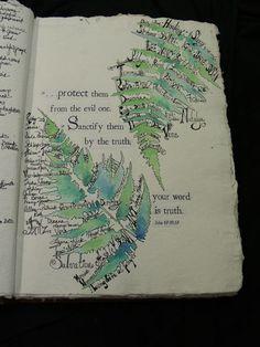 great faith art journaling