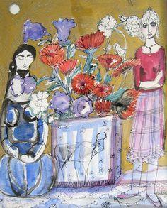Lydia Corbett - Picasso Bull Vase