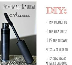 Seriously interesting...now how do U clean out a mascara tube . Natural