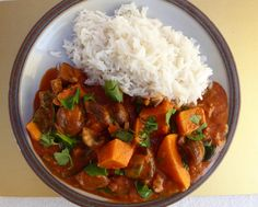 Sweet Potato Stew Stewed Potatoes, Suppers, Chana Masala, Sweet Potato, Yummy Food, Healthy Recipes, Simple, Ethnic Recipes, Dinners