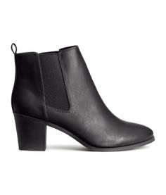 Ankle Boots - from H&M from H&M. Shop more products from H&M on Wanelo. Short Black Boots, Black High Heels, H&m Shoes, Sock Shoes, Black Ankle Booties, Ankle Boots, High Heel Boots, Bootie Boots, Kinds Of Shoes