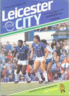 Leicester City v Chelsea official programme 02/02/1985