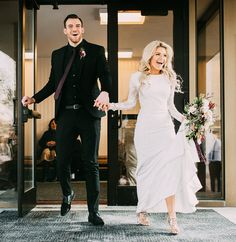 Carson McAllister and Witney Carson married