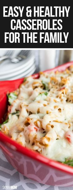 These healthy one-dish dinners don't disappoint!