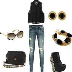 Relaxed but cute, created by als5774 on Polyvore