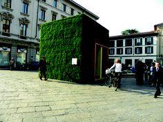 Verde Profilo Vertical Garden @Green Box, Monza #verdeprofilo #vertical #garden #green #wall #nature #box #milan