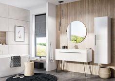 Modna łazienka: 12 kolekcji mebli - Galeria - Dobrzemieszkaj.pl Double Vanity, Toilet, Mirror, Bathroom, Furniture, Design, Home Decor, Image, Products