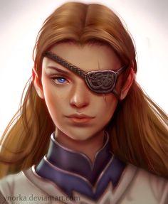 Amarae portrait by ynorka on DeviantArt