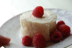 Rockin' Roll Cake (FP) Sugar-Free, Trim Healthy Mama recipe.