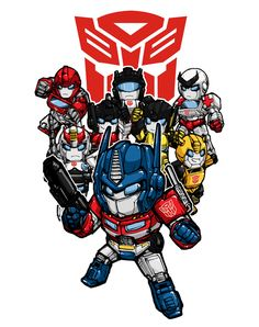 Superdeformers by MZ15.deviantart.com on @deviantART