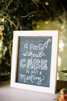 20 Wedding Signs That Add A Little Somethin' The Party