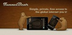 """Rawwr! VPN made simple with TunnelBear!  Indigenous to the internet, TunnelBear provides safe-passage and privacy for Android tablets and phones to experience the internet from other countries."""