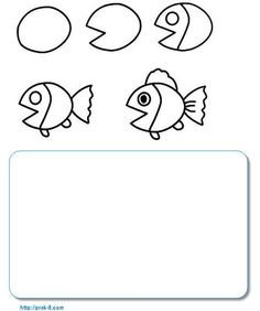 Easy animals for kids to draw kids drawing lessons easy drawing lessons for kids best teaching . easy animals for kids to draw Drawing Images For Kids, Drawing Lessons For Kids, Easy Drawings For Kids, Fish Drawing For Kids, Cartoon Drawings Of Animals, Cute Animal Drawings, Draw Animals, Easy Drawings Sketches, Fish Drawings