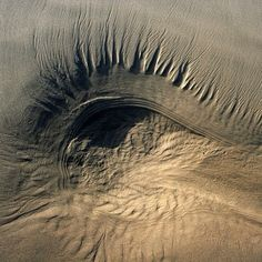 Natural Eye in the Sand
