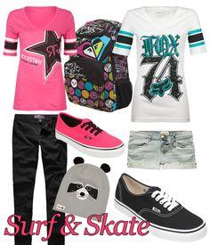 surf & skate | #fashion #skate #vans