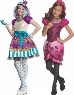 ever after high cerise hood girls dress halloween