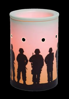Service & Sacrifice Charitable Warmer  Honor those who have served in the military and cast a lovely glow in your home with Service & Sacrifice. https://noflame-justscent.Scentsy.us