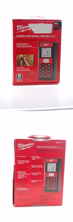 Electrical Testers 126406: 2281-20 Milwaukee Laser Distance Meter 200Ft -> BUY IT NOW ONLY: $189.99 on eBay!