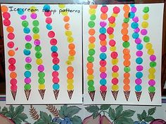 Could use to teach repeating and additive patterns Fall Preschool, Preschool Lessons, Preschool Crafts, Crafts For Kids, Summer Activities For Kids, Math Activities, Math Patterns, St Ignatius, Kindergarten Themes