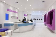 Flavaboom fro-yo shop by Dune, New York