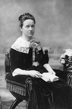 Millicent Fawcett, sister of Elizabeth Garrett Anderson, and president of the National Union Women's Suffrage Societies.