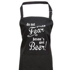 Do Not Fear Personalised Apron by TheOccasionalGenius on Etsy Personalised Christmas Presents, Cool Aprons, Personalized Aprons, Quirky Gifts, Do Not Fear, Gift Wrapping, Bespoke, Bbq, Birthdays
