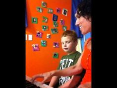 """Danny creates a fun atmosphere in music therapy weekly as he discovers his """" voice"""""""