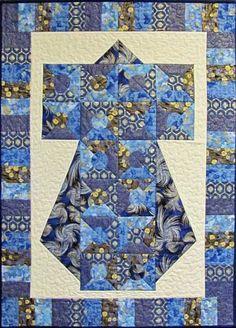 oriental quilt patterns - free   kimono, asian, japanese, pieced, fusible applique, quilt pattern ...