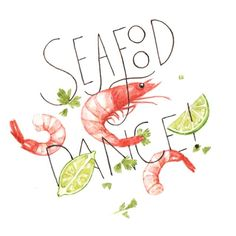 Seafood Dance, by Justine Wong