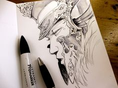 Drawing in Sketchbook vol.1 (you can find it here: http://ift.tt/2aDSxlI ) #sketchbook #DedicatedDrawing #fantasy #artoninstagram #Coliandre #XavierCollette #Facebook http://ift.tt/2b0Ufkh