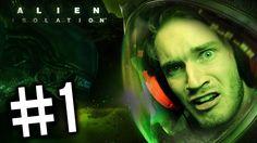 Alien: Isolation - Gameplay - Part 1 - (Playthrough / Walkthrough ) - SO...