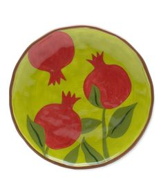 Take a look at this Pomegranate Jardin Lunch Plate by tag on #zulily today!  $10.99