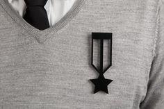 Medal of Honor Brooch - byAMT Label