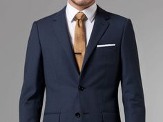 Essential Blue Suit   Indochino