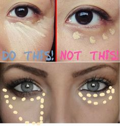 How to Properly Apply Under Eye Concealer   My Hijab: