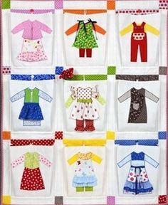 Free Quilt Pattern Pretty Women Pocket Quilt Patterns > Free Sewing / Quilt Patterns
