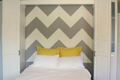 Chevron Wall paint - LOVE LOVE LOVE!!!