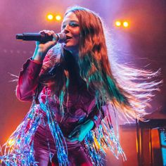 """This Saturday, the artist Maggie Rogers will be the musical guest on """"Saturday Night Live,"""" but who is she and what are her best songs? Saturday Night Live, Pharrell Williams, Indie Music, Stage Outfits, Snl, Shows, Celebs, Celebrities, Dance Music"""