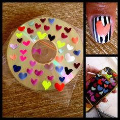 DIY nail polish stickers! so simple, so easy! cant wait to try!